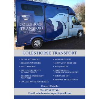 COLES HORSE TRANSPORT